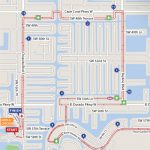 Cape Coral, FL - Half Marathon Map - Best Damn Race